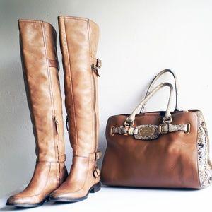 Sam Edelman Paulina Riding Boots US Size  7.5M